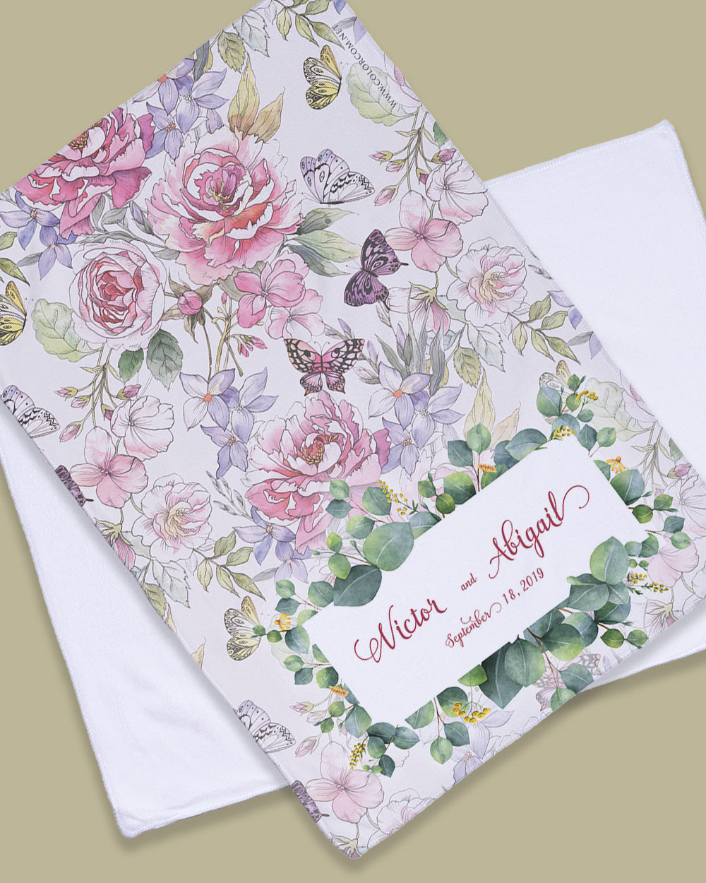 "Meadow Floral Rally Towel (SIZE 11""X17"")"