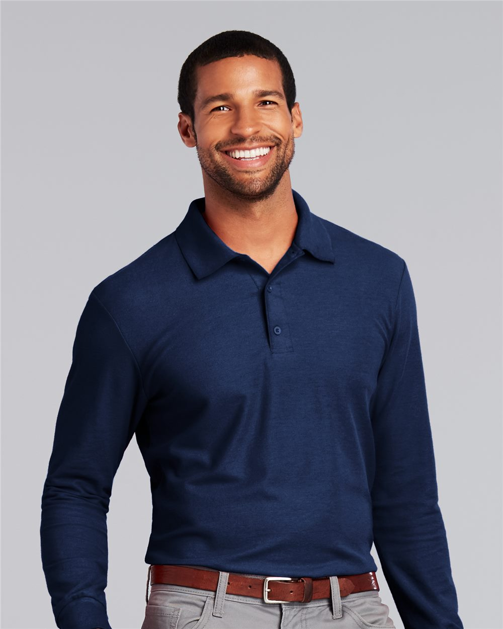 Gildan - DryBlend® Double Piqué Long Sleeve Sport Shirt - 72900