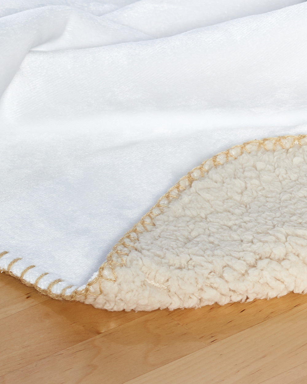"Coffee Bean Sherpa Blanket  (SIZE 30""X 40"")"