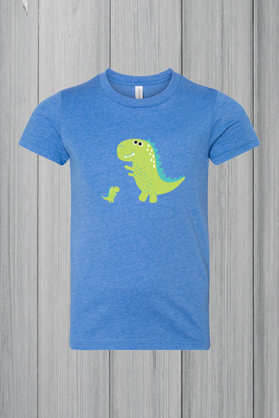 Dinosaur Youth Unisex Jersey Short Sleeve 3001Y, 4color Screen Printing, Minimum 30