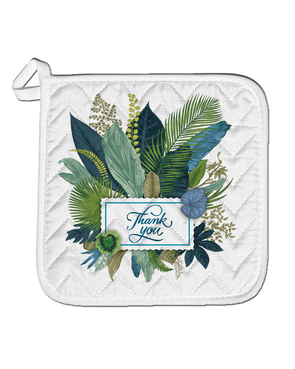 "Tropical Pot Holder  (SIZE 8""X 8"")"
