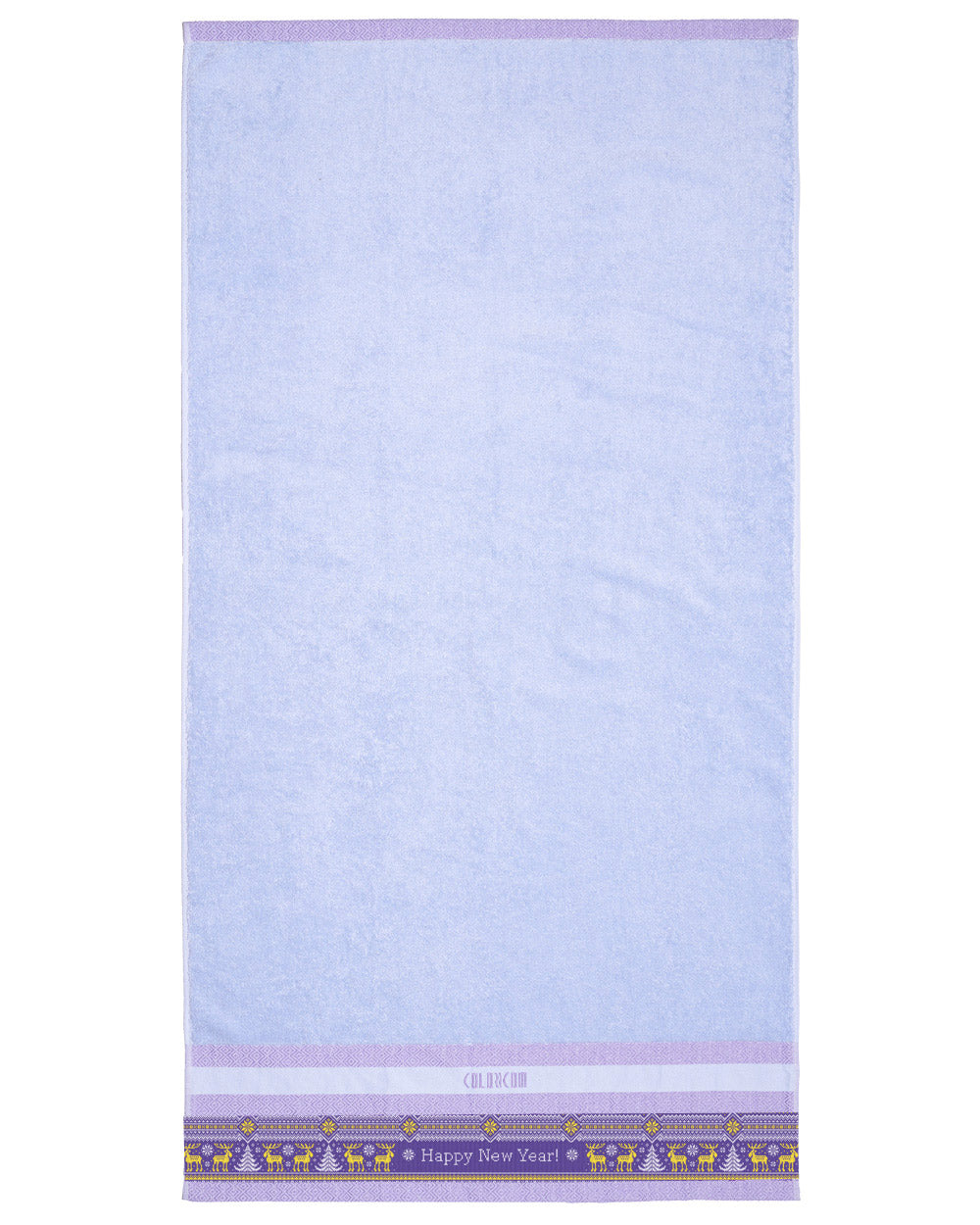 "Purple Bath Towel (SIZE 27""X 53"")"