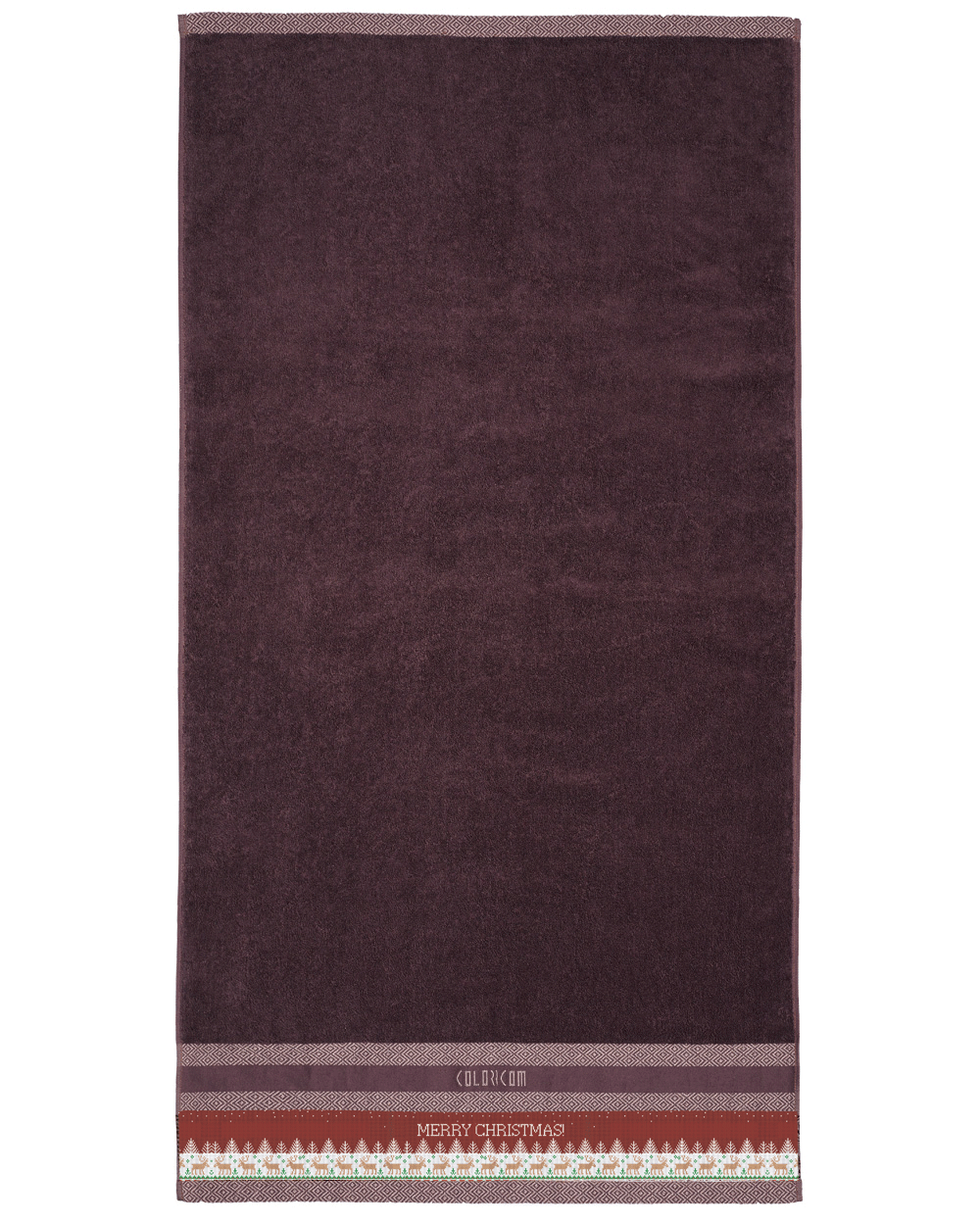 "Brown Bath Towel (SIZE 27""X 53"")"