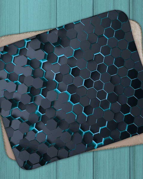 "Honeycomb 3D Design Sherpa  (SIZE 40""X 30"")"