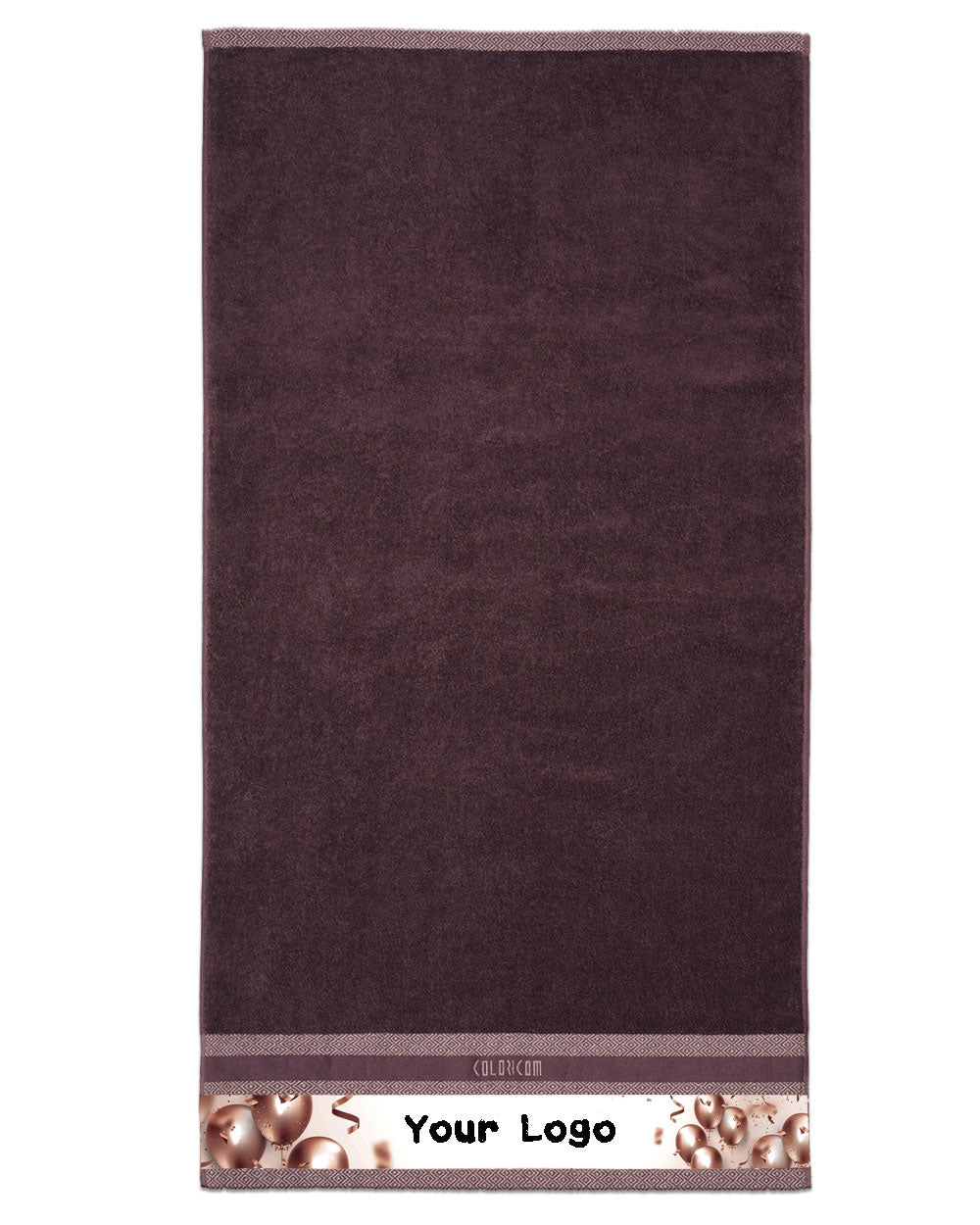 "Grand Opening Brown Bath Towel (SIZE 27""X 53"")"