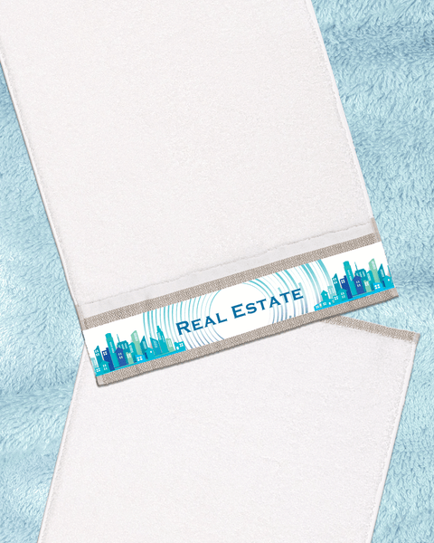 "Real Estate Ivory Hand Towel (SIZE 16""X 32"")"