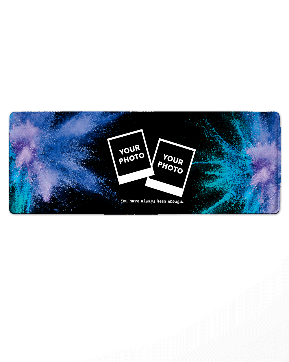"Paint Mouse Pad with Nonslip Base (SIZE 12""X 31"")"