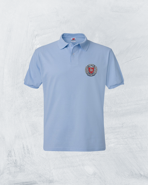 Adult Ecosmart® Jersey Polo Embroidered -#PA054XLB, Minimum 30