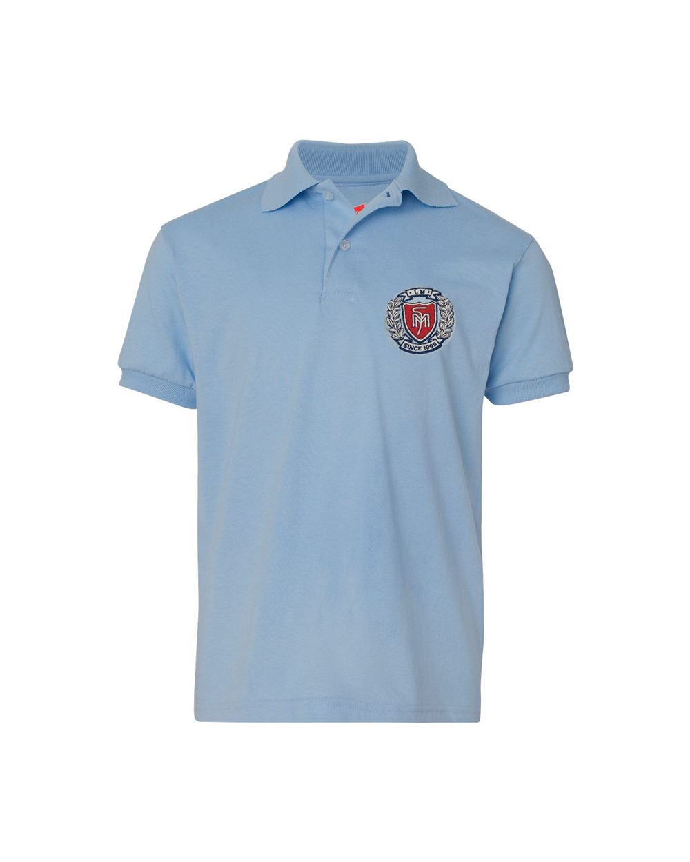 Youth Ecosmart® Jersey Polo Embroidered- #PY054YLB, Minimum 30