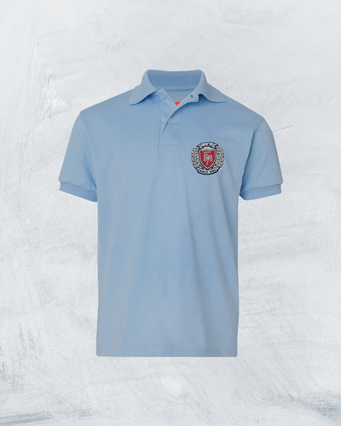 Youth Ecosmart® Jersey Polo - #PY054YLB ,Minimum 30