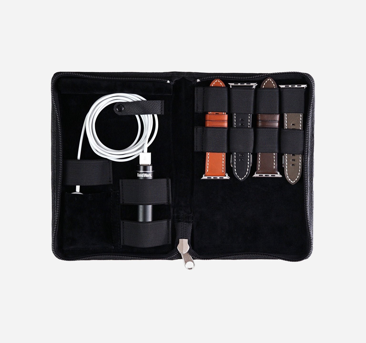 Nappa | Black | Travel Case