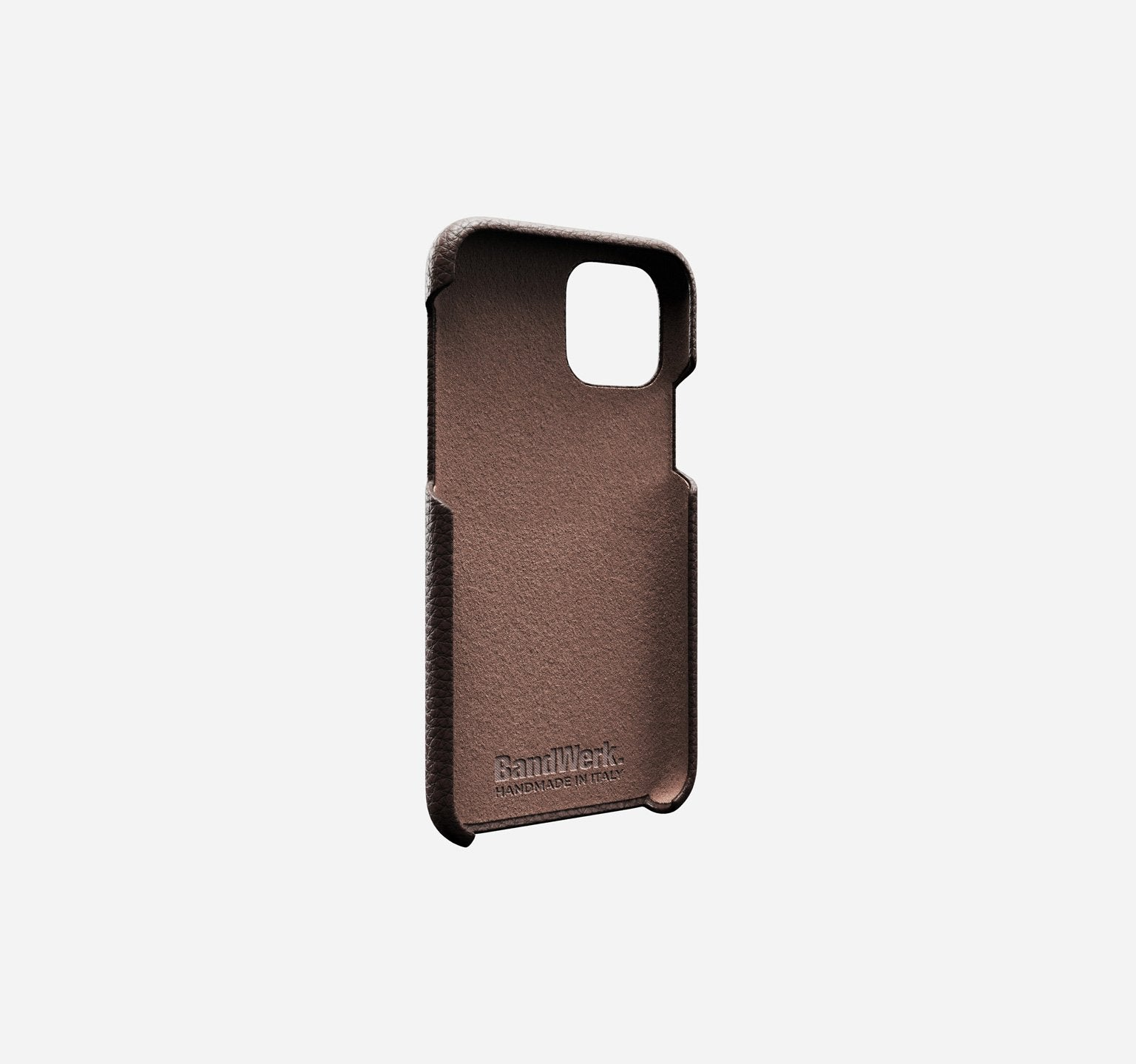 Nappa | Dark Brown | iPhone 12 Pro