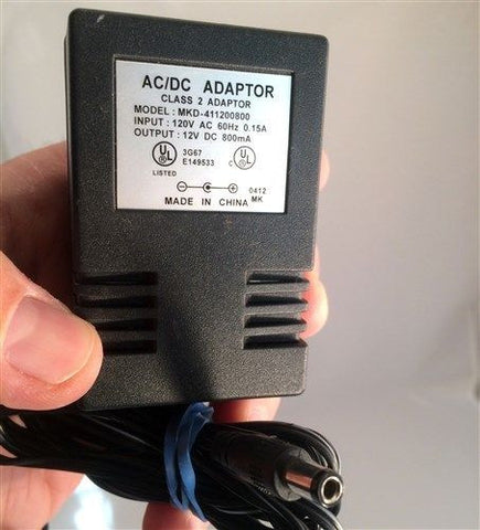 MKD-411200800 12V DC 800mA Power Supply AC Adapter