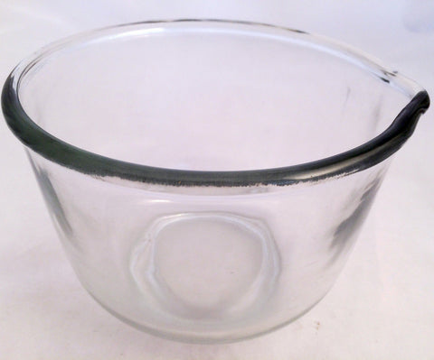 Oster Kitchen Center Regency Glass Small Mixing Bowl w/Spout