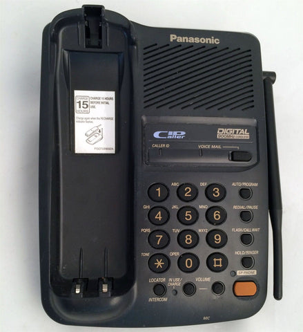 Panasonic KX-TC1713 Cordless Phone MAIN BASE ONLY Replacement (NO Adapter) 900mhz