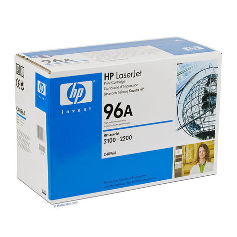 HP C4096A 96A Genuine Toner Ink Cartridge NEW SEALED