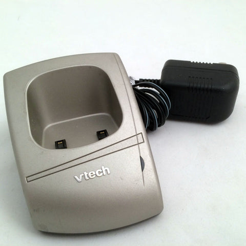 Vtech Charger Handset Cradle Base Extension Dock Replacement w/Adapter
