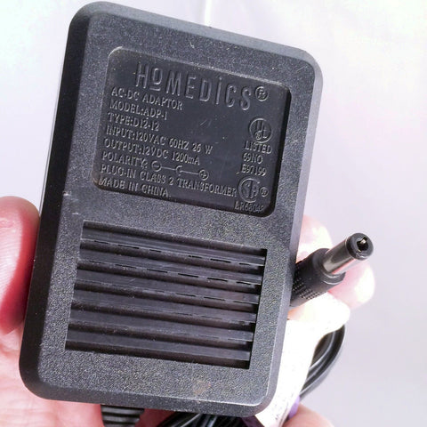 HOMEDiCS ADP-1 D12-12 Power Supply AC/DC Adapter Charger 12V 1200mA