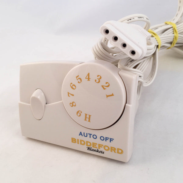 Biddeford Electric Blanket Control Controller 4 Prong Tc11ba Auto Off Plugin Replacements