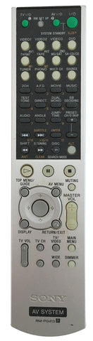 Sony Remote Control RM-PG411 for STR-DE985 Surround Receiver
