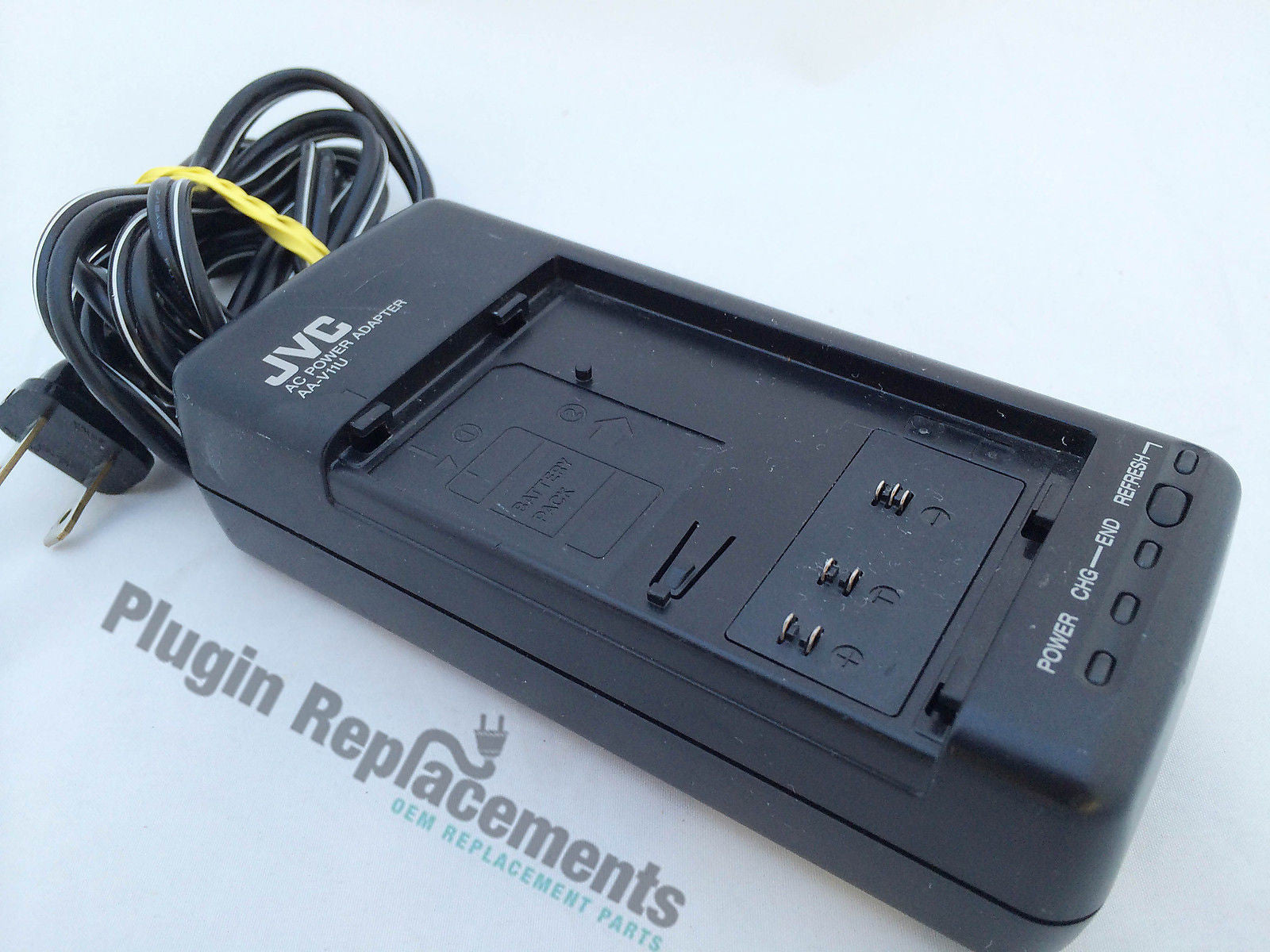 Jvc Aa V11u Vhs C Camcorder Ac Power Adapter Battery Charger Plugin Replacements