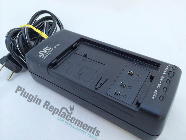 Jvc Aa V11u Vhs C Camcorder Ac Power Adapter Battery