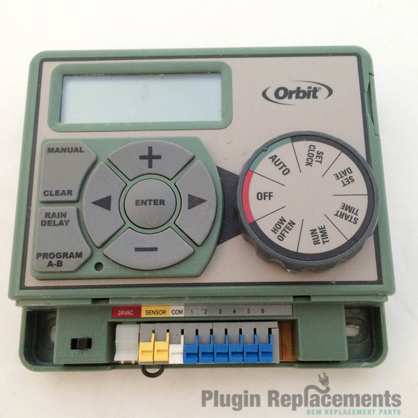 Orbit 6 Station Indoor Easy Dial Sprinkler Timer Model