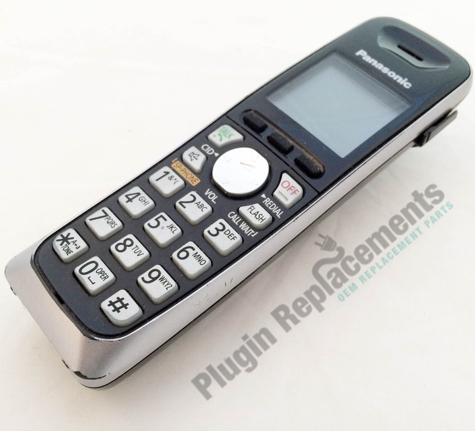 panasonic kx tga652 cordless expansion handset phone kx tga562b rh pluginreplacements com panasonic kx-tga652b manual panasonic kx tga652 manual