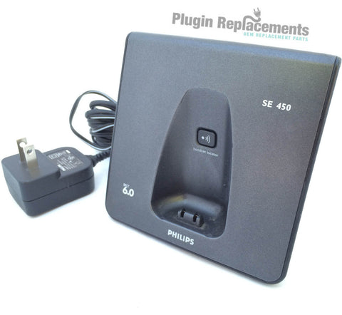 Philips SE 450 Dect 6.0 Cordless Phone MAIN BASE ONLY Replacement (w/Adapter)