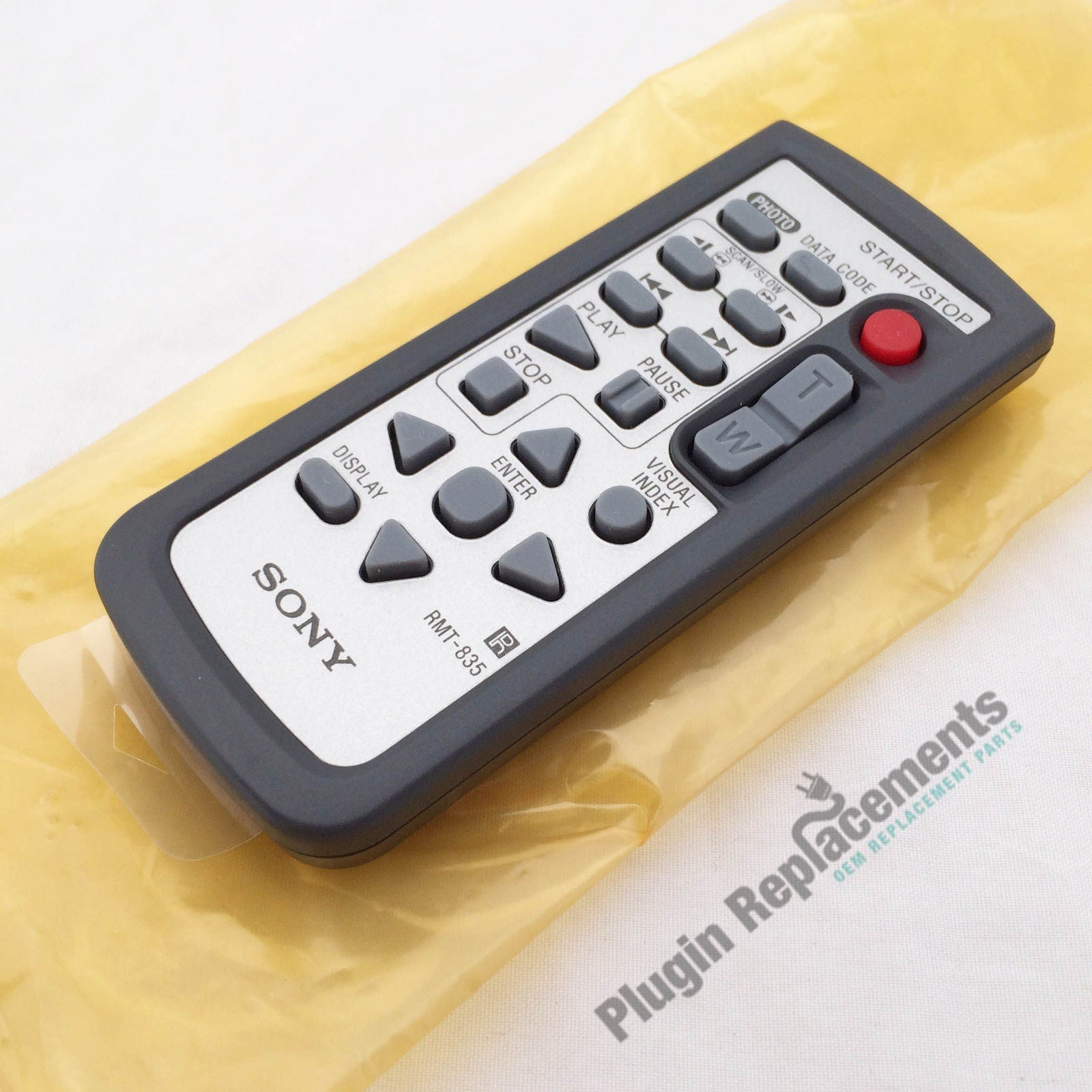 Sony Rmt 835 Remote Control For Sony Handycam Hdr Sr1