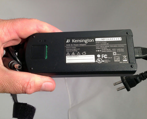 KENSINGTON K33404 420-0005-00 Laptop Power Supply Adapter Charger