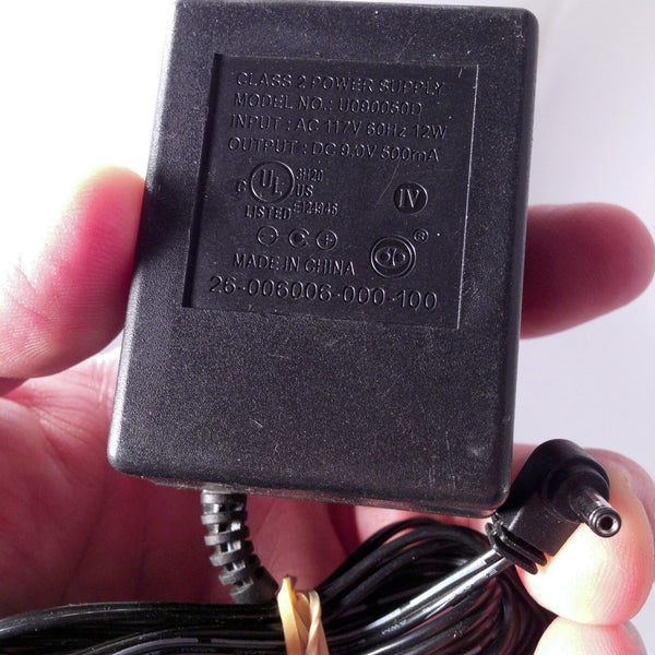 Dc Kitchen Supply: U090050D 9V 500mA DC Telephone Power Supply Adapter Wall