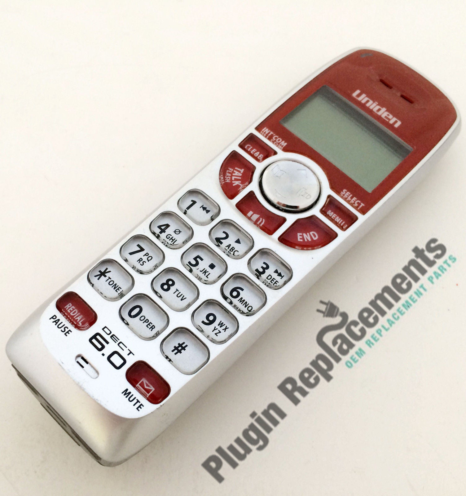 Uniden DECT1588-5 Handset / Red for DECT1560 /1580/ 1588 Series