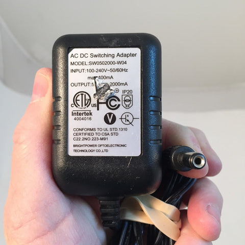 AC DC Switching Adapter SW0502000-W04 Power Supply Adapter
