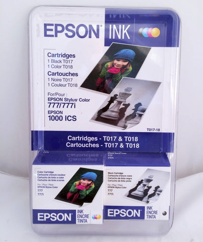 Epson T017 T018 Stylus Color 777 777i  Ink Cartridge