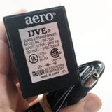 AERO Adapter Power Supply 120v AC to 7.5v DC 200mA, 5.5mm x 2.5mm Tip, DV-7520
