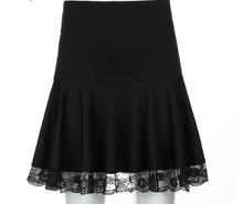 Load image into Gallery viewer, Gothic Lace Skirt