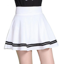 Load image into Gallery viewer, Women black Elastic Skirt