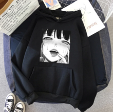 Load image into Gallery viewer, Goth Bad Girl Hoodie