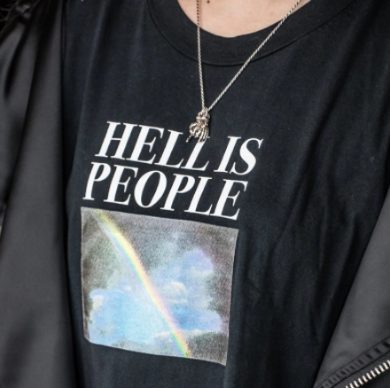 Hell is People Tee Shirt