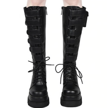 Load image into Gallery viewer, Dark Emo Boots