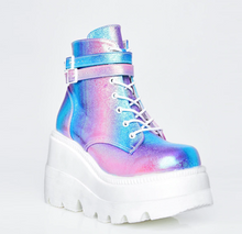 Load image into Gallery viewer, Colorful Goth Boots