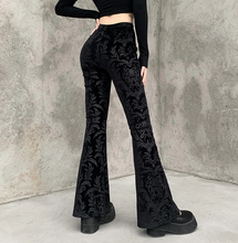 Load image into Gallery viewer, Goth Retro Trousers