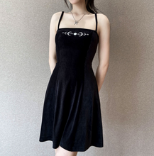 Load image into Gallery viewer, Goth Moon Dress