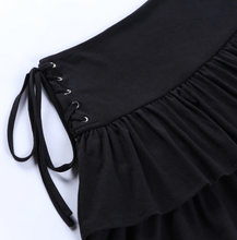 Load image into Gallery viewer, Eyelet Aesthetic Skirt
