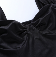 Load image into Gallery viewer, Aesthetic Black Goth Dress