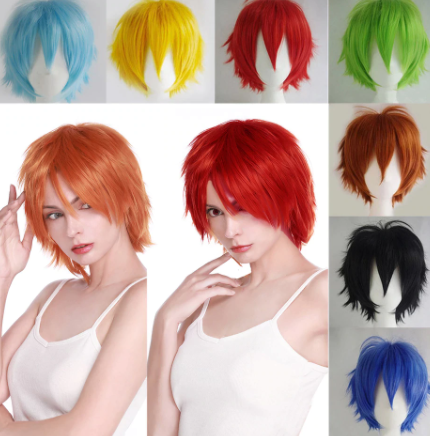 Anime Cosplay Short Hair Wig