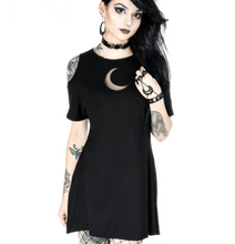 Load image into Gallery viewer, Dark Grunge Aesthetic Dress