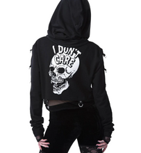 Load image into Gallery viewer, Gothic Cropped Hoodie