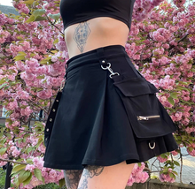 Load image into Gallery viewer, Gothic Bandage Skirt